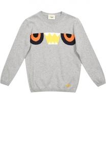 Пуловер джерси Fendi Roma