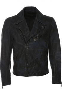 Кожаная куртка Ralph Lauren