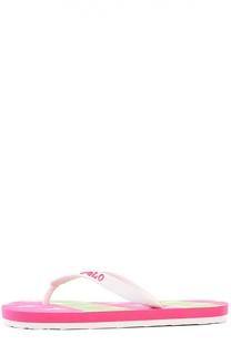 Шлепанцы Polo Ralph Lauren