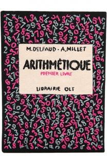 Клатч в виде книги с вышивкой Olympia Le-Tan