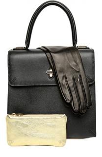 Сумка Bogart с косметичкой и перчатками Charlotte Olympia