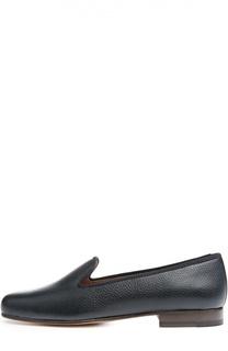 Кожаные лоферы на устойчивом каблуке Stubbs&Wootton Stubbs&Wootton