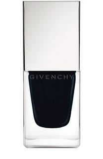 Лак для ногтей Le Vernis №22 Noir Satin Givenchy