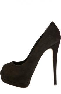 Замшевые туфли Sharon Giuseppe Zanotti Design
