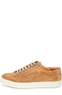 Замшевые кеды Sidra на шнуровке Ralph Lauren