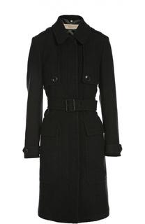 Пальто с поясом Burberry Brit