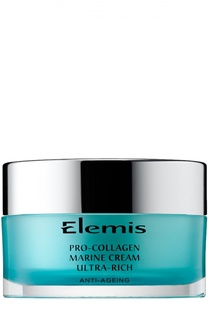 Крем для лица Pro-Collagen Marine Cream Ultra Rich Elemis