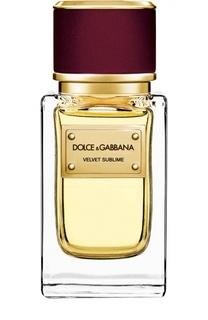 Парфюмерная вода Velvet Collection Sublime Dolce & Gabbana