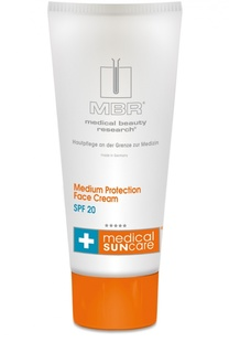 Солнцезащитный крем для лица SPF 20 Medical Beauty Research