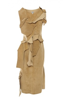 Замшевое платье Loewe