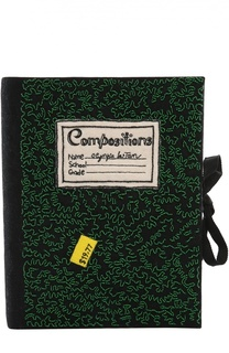 Клатч Notebook с вышивкой Olympia Le-Tan