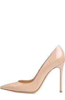 Лаковые туфли Business на шпильке Gianvito Rossi