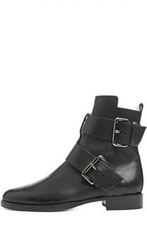 Кожаные ботинки с ремешками Pierre Hardy