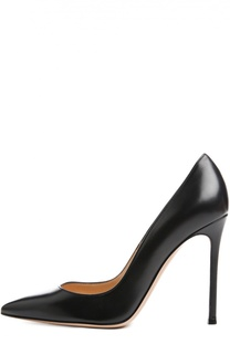 Кожаные туфли Business на шпильке Gianvito Rossi