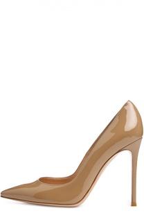 Лаковые туфли Gianvito 105 на шпильке Gianvito Rossi