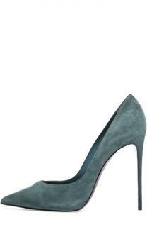 Замшевые туфли на шпильке Le Silla