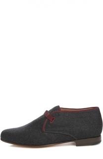 Суконные ботинки на шнуровке Stubbs&Wootton Stubbs&Wootton