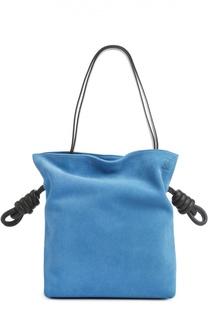 Замшевая сумка Flamenco Knot Loewe