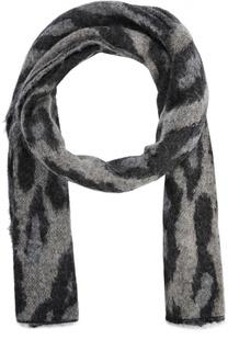 Вязаный шарф с принтом By Malene Birger