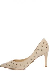 Замшевые туфли с заклепками Diane Von Furstenberg