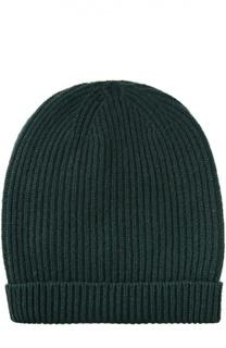 Кашемировая шапка с отворотом malo