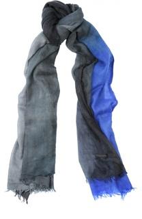 Кашемировый шарф с необработанным краем Franco Ferrari