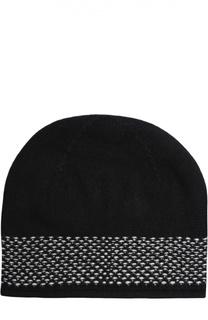 Кашемировая шапка тонкой вязки Johnstons Of Elgin