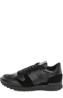 Комбинированные кроссовки Camounoir Valentino