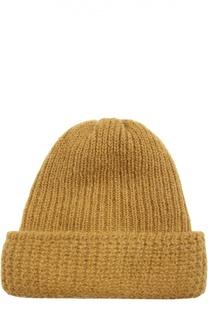 Вязаная шапка из смеси шерсти и мохера Tak.Ori