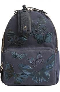 Рюкзак с нашивками в виде бабочек Valentino