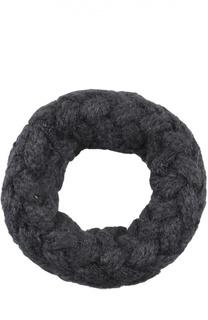 Вязаный шарф-снуд с плетением Artiminesi