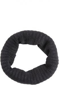 Вязаный шарф-снуд из смеси кашемира и шелка Colombo