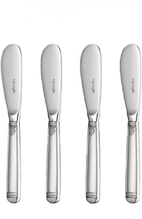 Набор из 4-х ножей для масла Malmaison Christofle