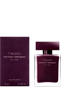 Парфюмерная вода For Her Absolu Narciso Rodriguez