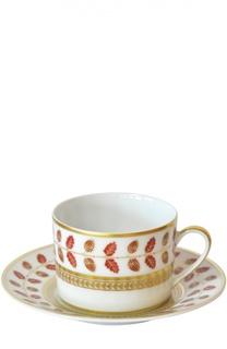 Чайная чашка Constance Rouge Bernardaud
