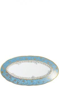Блюдо овальное Eden Turquoise Bernardaud