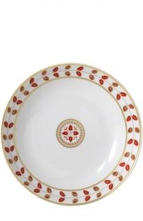 Тарелка суповая Constance Rouge Bernardaud