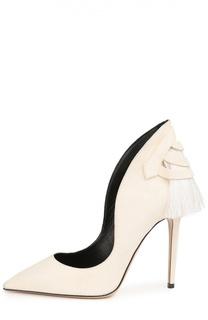 Замшевые туфли Louisa с декором Aleksandersiradekian