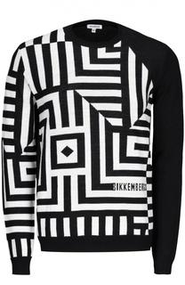 Вязаный пуловер Dirk Bikkembergs