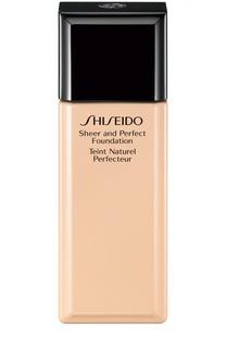Тональное средство с полупрозрачной текстурой I00 Shiseido