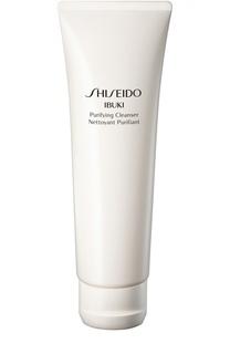 Очищающая пенка-скраб iBuki Shiseido