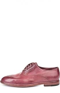 Туфли Marsala Dolce & Gabbana