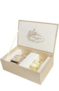 Духи Prudence №5 Шелковый кофр со флаконом, вручную расписанным золотом Prudence