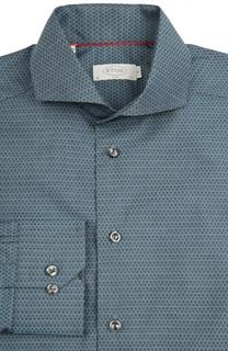 Приталенная сорочка с принтом Eton