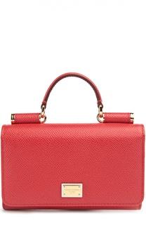 Кожаный чехол Mini Von Belt для iPhone 6/6S Dolce & Gabbana