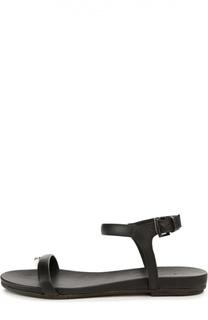 Кожаные сандалии с ремешком на щиколотке Vic Matie