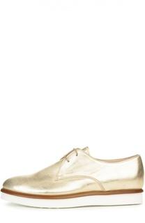 Ботинки Gomma XL VS из металлизированной кожи Tod's