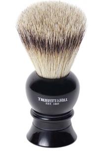 Кисть для бритья Ворс серебристого барсука/Эбонит с серебром Regency Truefitt&Hill Truefitt&Hill