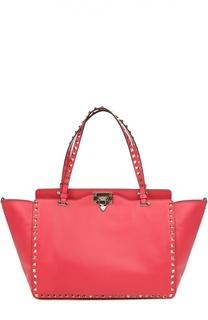 Сумка-шоппер Rockstud среднего размера Valentino