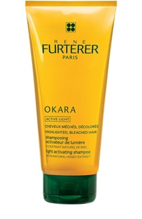 Шампунь Okara для сияния осветленных волос Rene Furterer